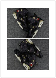 Wholesale Polyester Embroidery Thread Sale - Men 6 Chinese New Year CNY 6s Mens Basketball Shoes Black Gold Peony fireworks embroidery 2018 High Quality Sports Sneakers For Sale