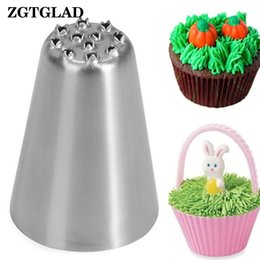 Wholesale Pipe Tools Supply - ZGTGLAD 1pcs Creative Tulip Icing Piping Nozzle Cupcake Decorating Rose Pastry Tips Tools Kitchen Supplies