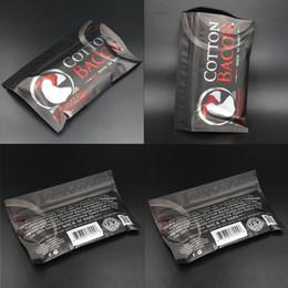 Wick wick e cigarette en Ligne-Coton Bacon 2.0 Pure Bacon Coton mèche 2.0 Pour DIY RDA Atomiseurs E Vaporisateurs De Cigarette Chaleur Fil Coton organique