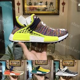 Wholesale Out Walking - Black Purple NMD Human Race Runner Boost Runners Respira Holi Nerd Boost Running Shoes Hiking Jogging Walking Outdoor Shoe Williams Pharrell