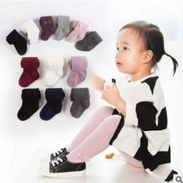 Wholesale Beige Lace Leggings - Baby kids pantyhose spring new girls lace Bows dance stockings children love heart knitting leggings fashion children cotton bottoms R2274