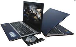 Wholesale Intel I5 - 15.6 Inch Intel I7 I5 CPU laptop Windows7 WIN8 DVD ROM Gaming Laptop 8GB 128GB SSD Quad Core 15.6INCH notebook Free Shipping