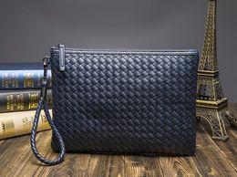 Top Quality Itália estilo Milano famosa marca Designer mulheres senhora moda clássico saffiano genuíno couro de vaca bolsa de embreagem de luxo carteira de