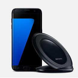 Cargador rápido QI Cargador inalámbrico S7 Pad Base de carga rápida Para teléfono Galaxy S7 / Edge / S6 Edge + Note 5 Google desde fabricantes