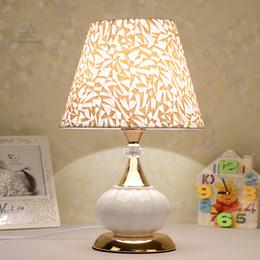 Moderne Schlafzimmer Tischlampen Nordischen Stil Keramik Mode Einfache  Nachttischlampe Wohnzimmer Dekoration Studie Lesen Schreibtisch Licht