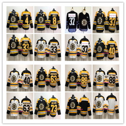 Wholesale zdeno chara - 2018 Boston Bruins Hockey Jerseys 73 Charlie Mcavoy 33 Zdeno Chara 37 Patrice 63 Brad Marchand 88 David Pastrnak stitched Jersey