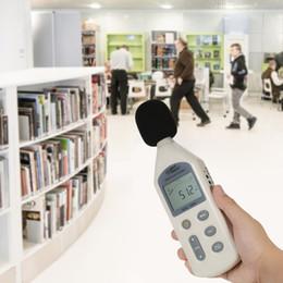 Sensore ad alto livello online-SMART SENSOR Misuratore di livello sonoro digitale LCD ad alta precisione con misurazione del rumore Strumento di misurazione del rumore Decibel Tester 30-130 dBA