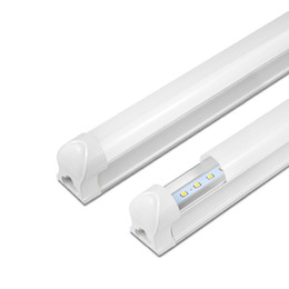 Remplacement des ampoules fluorescentes en Ligne-Chaud!! Tube T8 Intégré 8W 12W 220V 240V LED Applique Murale Armoire Plafonnier LED Bar Lampe Lumière Remplacer Fluorescent Tube