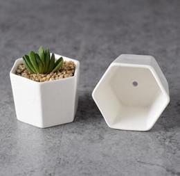 Canada 256pcs céramique pots de bonsaïs gros fournisseurs de pots de fleurs en porcelaine blanche Offre