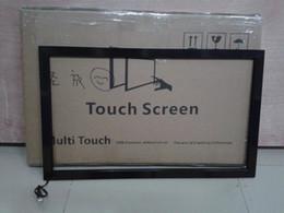 """Punto usb online-Kit de superposición de pantalla táctil de 55 """"pulgadas Precio del panel táctil Kit de superposición de panel táctil infrarrojo de 10 puntos para monitor de pantalla de TV, espejo inteligente"""