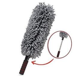 Wholesale Cleaning Polishing Tool - Microfiber Car Home Cleaning Duster Lint Wax Polishing Tool Extendable Flexible Vehicle Duster Bush Handle Multifunction Brush CCA9164 50pcs