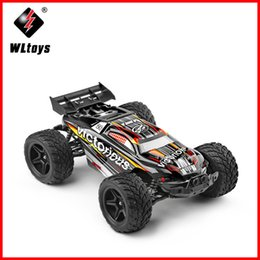 Wholesale Bike Model Toys - WLtoys A333 35km h High Speed RC Competition Car 1:12 Scale Remote Control Car 4CH 2.4G 2WD Dirt Bike Toys For Children