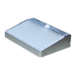 12-вольтовая лампочка Скидка 48 LED солнечный яркий пир человеческого тела датчик движения освещение домашней безопасности открытый свет 600LM лампа Солнечной 2835SMD настенный светильник