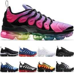 san francisco 269d7 138c4 Nike Air Vapormax TN Plus Max Airmax Vendita all ingrosso TN PLUS Uomo Donna  Running Shoes BE TRUE Giallo Triple Nero Bianco Rosso Oreo Volt Trainer  Sport ...