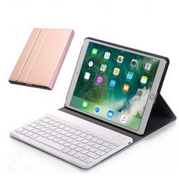 rosa zünden feuer Rabatt Bluetooth Tastatur Fall Wireless Ledertasche mit Ständer Halter für 2017/2018 iPad Pro9.7 Air1 / 2 Mini1 / 2/3/4
