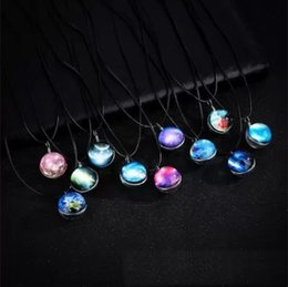Correntes extravagantes para jóias on-line-12 estilos fantasia universo lunioso pingentes para as mulheres colar de cristal choker designer de jóias cadeias de presentes do dia das mães de natal