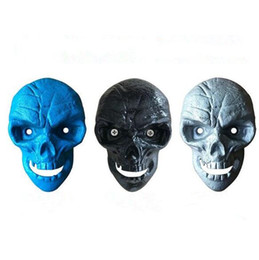 Wholesale Screw Skull - Skull Wall Mounted Opener Retro Cast Iron Beer Bottle Openers Can Fixed With 2pcs Screw Creative Kitchen Bar Open Bottle Tool CCA8794 50pcs