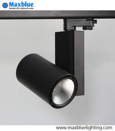 Wholesale Exhibition Lighting - LED Track Spot Light 30W CREE COB Modern Ceiling Adjustable Rail Exhibition Lamp for Art Gallary Lighting