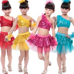 bea1227b3 Songyuexia Children jazz dancing costumes girls and boy set kids ...