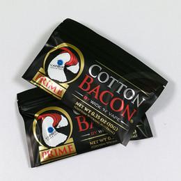 USA Clone Prime COTONE BACON 2.0 100% Puro Cotone Bacon Wick N Vape Wicking Per DIY RDA RBA Atomizzatori E Sigarette Vaporizzatori Serbatoi da