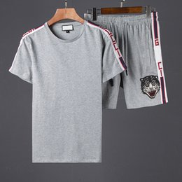 Wholesale Short Sleeve Summer Cardigans - New T-shirt Fashion Printed Women And Men's Clothing Casual Summer Short Sleeve Tops Tees Shirt T For