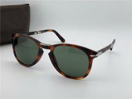 Солнцезащитные очки Persol 714 серии Итальянский дизайнерский плетизм  классический стиль очки уникальная форма высшего качества UV400 защита  может быть ... 4e2cd0a83ff8e
