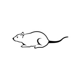 Disegno dell'autoadesivo della decalcomania del corpo dell'automobile online-Mouse Art Design Car Sticker Vinile Car Packaging Decalcomania Accessorio Prodotto Animale