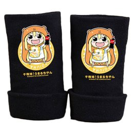 Wholesale Chan Wholesale - 2017 New Fashion Winter Warm Cotton Glove Anime Himouto Umaru chan Gloves Print Fingerless Mitten Unisex Cosplay Gift