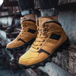 2019 botas de invierno para hombres Zapatillas de deporte de invierno para hombre Botas 2018 Zapatos de estilo vintage para hombre botas de invierno para hombres baratos
