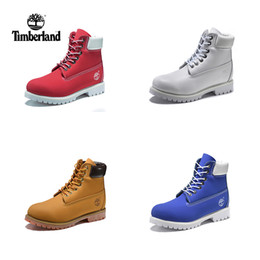 Wholesale flat heels - HOTSALE 2018 New Timberland Mens Designer Sports Running Shoes for Men Sneakers Casual Trainers Women Luxury Brand Retro boots