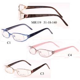 Novo 2017 Marca de metal Óptico Óculos oculos silhueta Óculos de Armação  Homens e Mulheres Olho Óculos oculos de grau Frete Grátis desconto  silhouette frame 93a75e6a4a