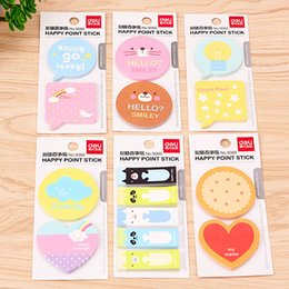 Wholesale notepad animal sticky - Cute Kawaii Animal Apple Memo Pad Sticky Note Mini Cartoon Self-Adhesive Notepads For Kids Gift Office School Supplies