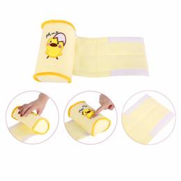 Almohada antivuelco segura para bebé online-NAI YUE Cómodo Algodón Anti Roll Pillow Lovely Baby Toddler Safe Cartoon Sleep Head Posicionador Anti-rollover
