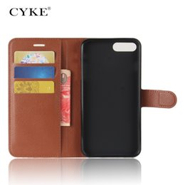 Wholesale Iphone 5c Flip Case Cover - CYKE Luxury Phone Case for iphone X 8 7 6 plus 5C 5s 4 iPod touch5 Stand Flip Cover Wallet PU Leather cover