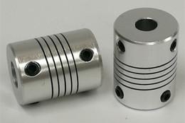 Acoplamento elástico da liga de alumínio Motor de acoplamento codificador enrolamento acoplamento D19L25 fio Suave, Uma variedade de especificações disponíveis de