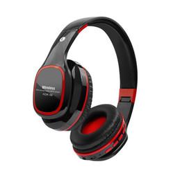 Mikro-radio-hifi online-faltbare Hifi Cardable Bluetooth Kopfhörer Stereo Musik Mit Mic Micro TF Funktion FM Radio Freisprecheinrichtung für PC Telefone