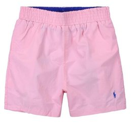 Wholesale Mens Nylon Swim Shorts - Hot Summer polos Mens beach Pants Brand polo Clothing Swimwear Nylon Men Brand Beach Shorts Small horse Swim Wear Board Shorts 2018