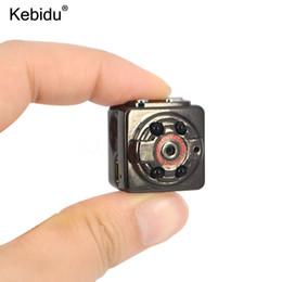 Wholesale good quality video cameras - kebidu Quality Goods Mini Camera HD 1080P x 720P SQ8 Sport DV Voice Video Recorder Infrared Night Camcorder Digital Cam