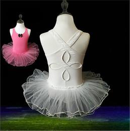 entrepierna Rebajas Chaleco de algodón 3-10 años Edad Niñas Baile Leotardo Ballet Tutú Niño Niños Baile Bodysuit Gimnasia Vestido de ballet con entrepierna a presión