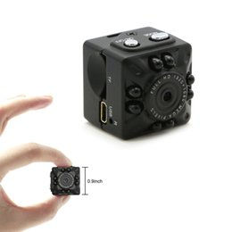 Wholesale video cameras small - Mini DV Camera Full HD Small Camera 1080P 12MP Portable Micro Video Camera with IR Night Vision Motion Detection Security Surveillance Cam