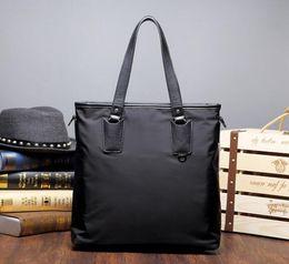 Wholesale Canvas Tote Bag Factory - Factory wholesale brand new bag nylon cloth business casual men all-match handbag briefcase trend waterproof wear Shoulder Messenger Bag