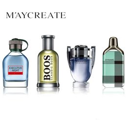1 Set 4 Pcs Parfumé Hommes Parfumé Atomiseur Bouteille En Verre De Mode Lady mâle Parfum Longue Durée Fleur Parfum Parfumé ? partir de fabricateur