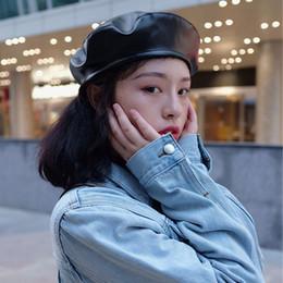 boina mujer invierno francés rojo negro lana gorra sombrero mujer francés  sombrero mujer sombreros cuero af00d135058