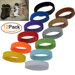 Wholesale id necklaces - 12 colors pet neck strap labeling necklace for dogs catscollars identity ID tags pet supplies free ship