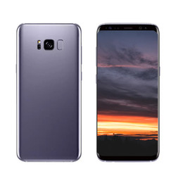 Wholesale Cell Phone Radios - Goophone S8+ S8 plus 6.2inch Unlocked Full Screen Fingerprint Quad Core Android 7.0 4GB 8GB 16GB Rom Show 64GB Cell phone