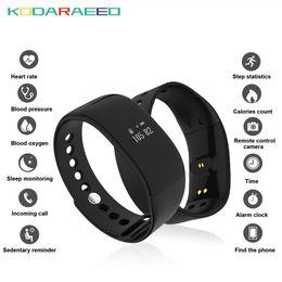 V66 Smart Watch IP67 a prueba de agua Bluetooth4.0 Sport Smartwatch rastreador de ritmo cardíaco Pulsera de la salud para el teléfono Android IOS desde fabricantes