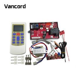 2019 componentes de control remoto 2017 Nuevo modelo Universal A / C Sistema de control remoto Aire acondicionado Placa Componentes de control universal ZL-U05AM rebajas componentes de control remoto