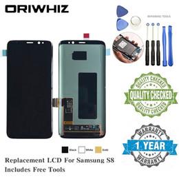 OLED TFT para Samsung S8 Note 8 Pantalla LCD Pantalla de reemplazo Pantalla táctil Pantalla completa Digitalizador con herramientas de reparación gratuitas desde fabricantes
