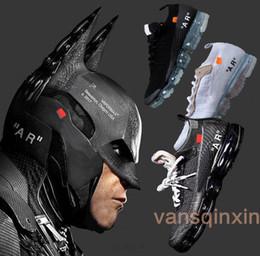 Wholesale Hard Wear - Black Vapormax 2018 Breathe Running Shoes Fashion designer Men Women vapormax Beaverton Trainers Soorts Wear off Sneakers Shoes us5.5-11