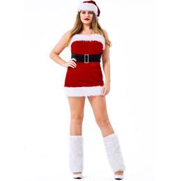 cosplay tube Rabatt Samt rote röhre weihnachten kleid kostüme anzug cosplay für frau weihnachten party cosplay plus größe